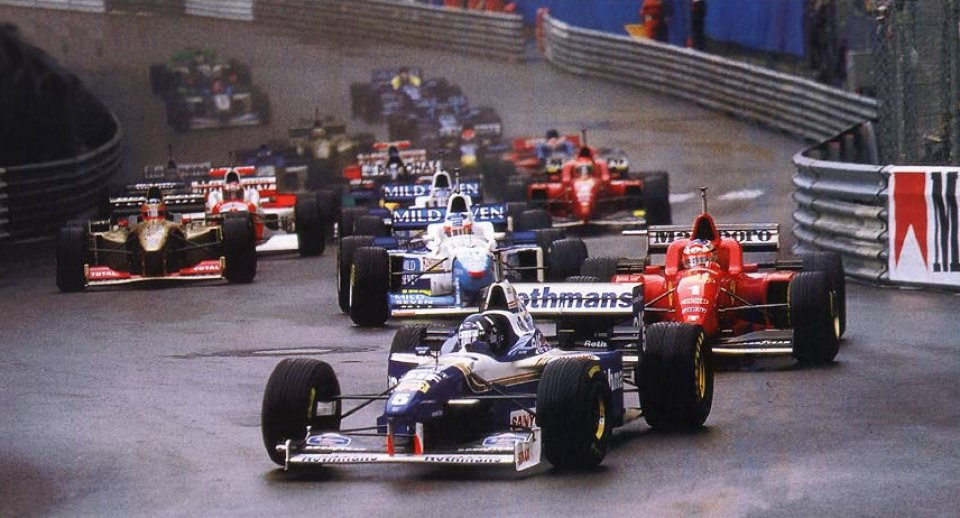 F1 em 1996 - foto by f1-facts.com