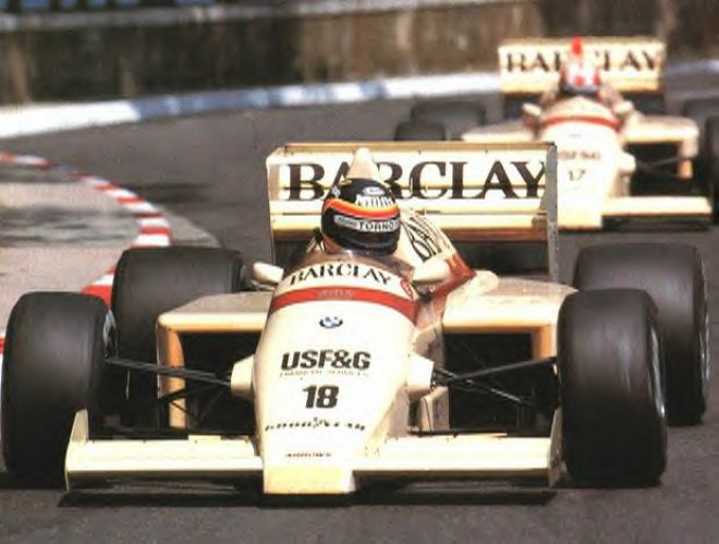 Arrows, equipe histórica da Formula 1 de 1985 - by f1-facts.com