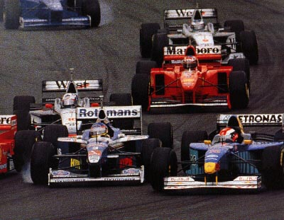 GP da Australia de Formula 1, Melbourne, em 1997 by f1-facts.com