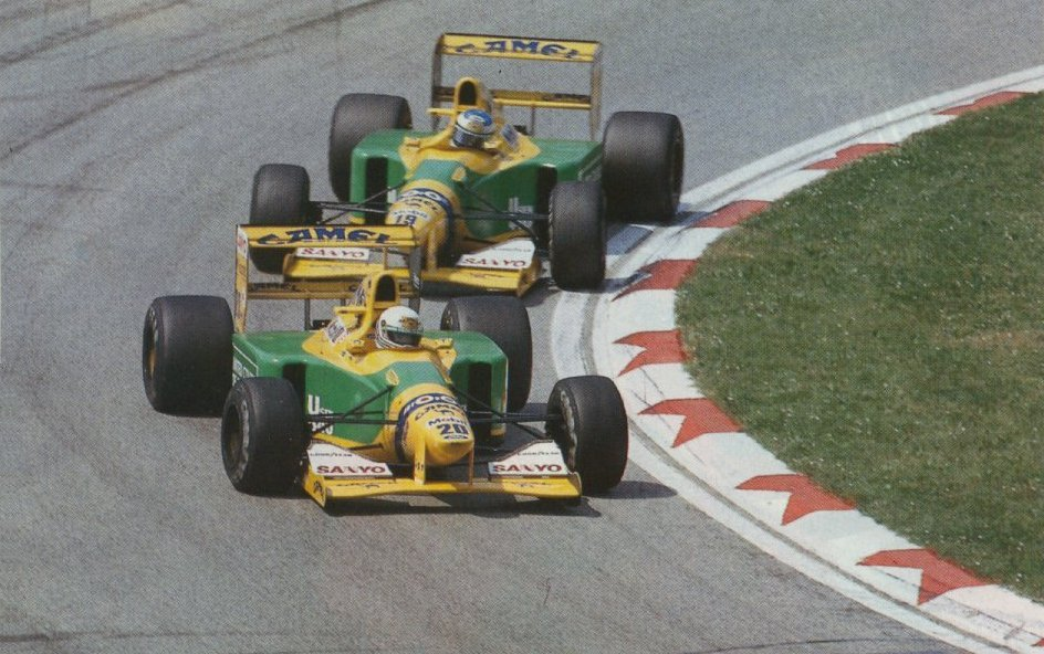 Image result for 1992 imola brundle
