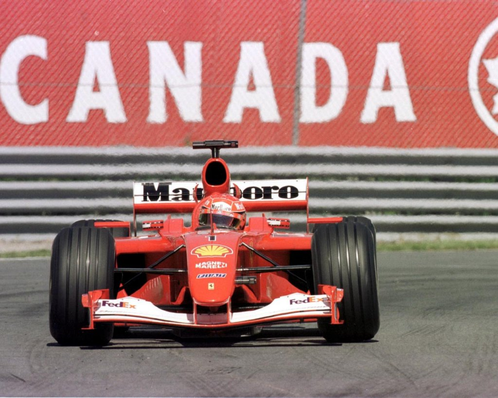 ferrari f2001 michael schumacher - photo #26